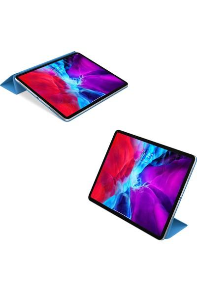 """Apple iPad Air 4. Nesil 4. Nesil Kılıf 10.9"""" 2020 Lansman Tablet Kılıfı+Kırılmaz Nano Esnek Cam"""