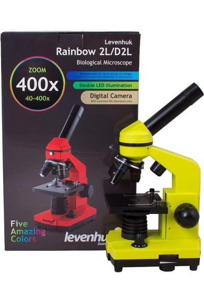 Levenhuk Rainbow 2l Kireç Çocuklar Için, Taşınabilir Mikroskop