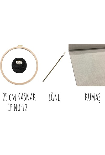 Turuncubirkafa Embroidery Yüz Nakış Kiti Seti