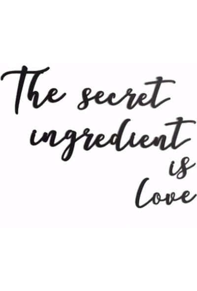 Oteberry The Secret Ingredient Is Love Duvar Yazısı