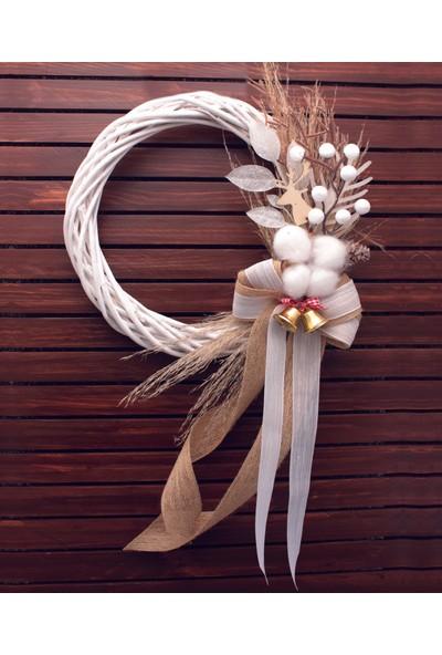 Lora Wedding Yeni Yıl Çelenk Kapı Süsü