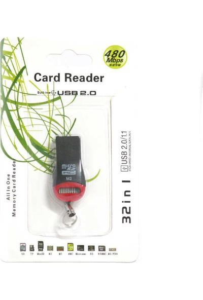 Teknogreen TK-CR01 Mini Tip Microsd Kart Okuyucu