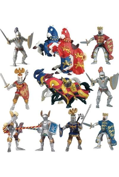 Papo 12 Parça Mini Şövalyeler Tüp