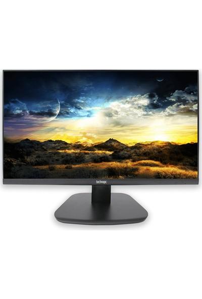Technopc TPL22V 21.5'' Standart Ayak 60Hz 5ms (HDMI+VGA+Display) Full HD LED Monitör
