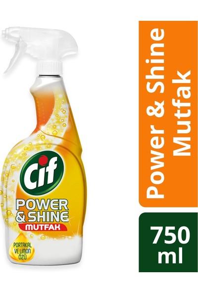 Cif Sprey Power & Shine Mutfak 750 ml & Banyo 750 ml