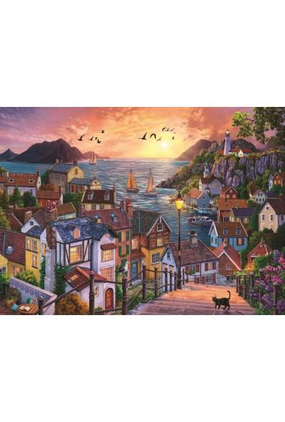 Anatolian Puzzle Sahilde Günbatımı 1000 Parça Puzzle