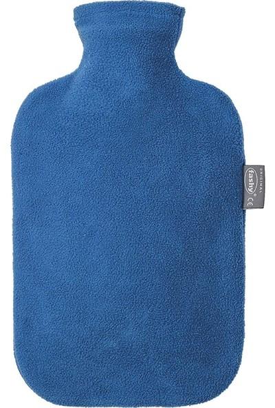 Fashy Mavi Polar Kılıflı Sıcak Su Torbası Termofor