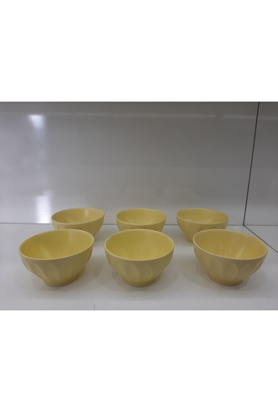 Keramika Sarı Kase 13CM