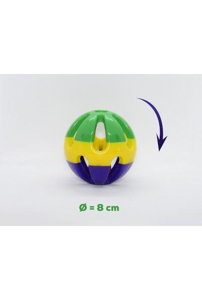 Griffonpet Sesli Kedi Topu Oyuncak Çapı 8cm