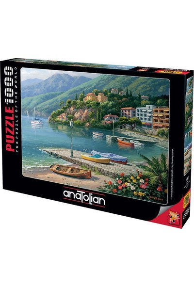 Anatolian Liman Hillside 1000 Parça Puzzle