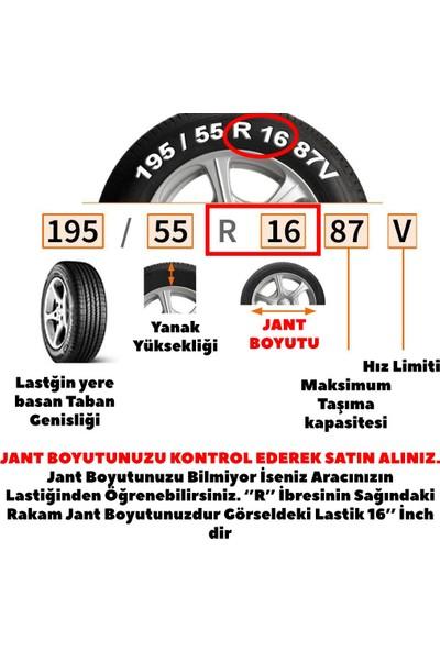 Kadiroğlu Renault Clio 15'' İnç Uyumlu Jant Kapağı 4 Adet 1 Takım 1002