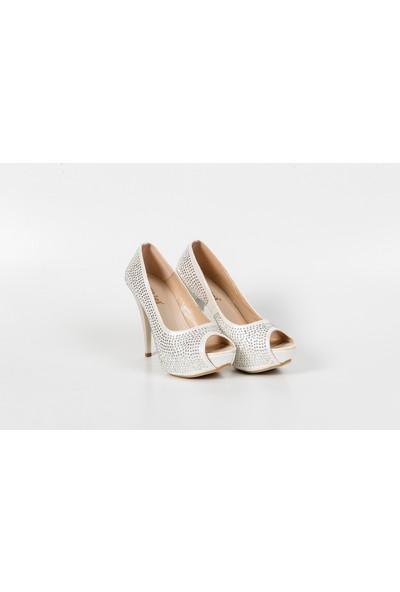 Ekici Kadın Topuklu Platform Ayakkabı