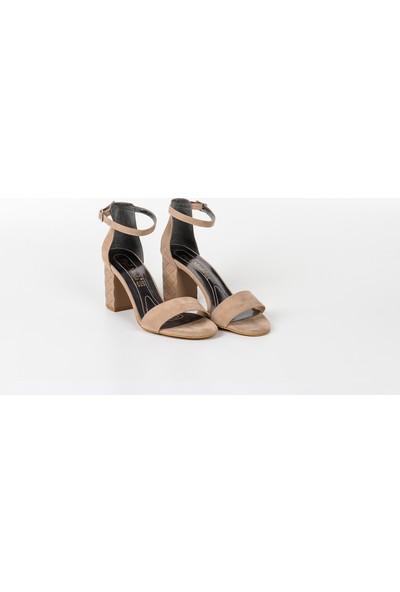 Park Moda Baklava Desen Açık Kadın Ayakkabı