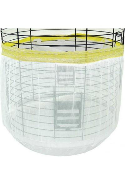 Garden Mix Oval Kuş Kafes Tülü Kapalı 60-120 cm Renkli