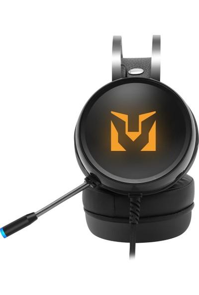 Polosmart PGM10 Armor Gaming Kablolu Kulaküstü Kulaklık Siyah