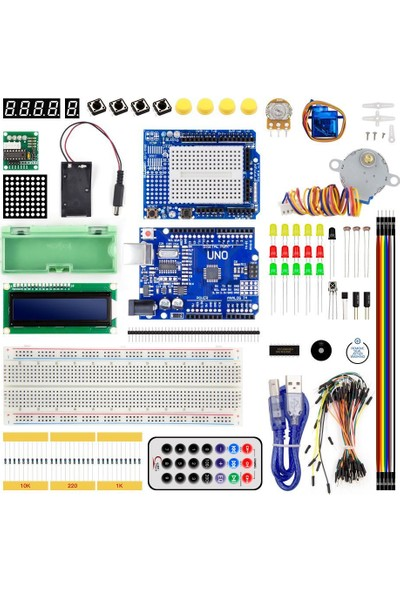 Myrobotech Arduino Uno Gelişmiş Kit