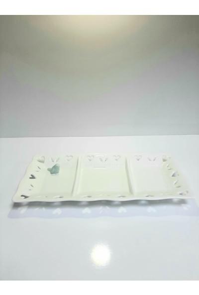 Lavin Baton Porselen Çerezlik