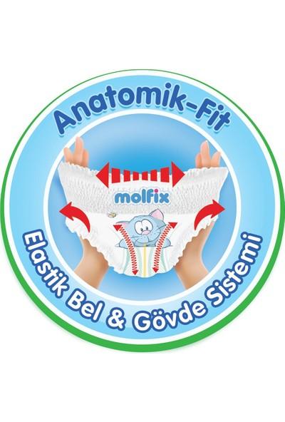 Molfix Külot Bez 4 Beden 304 & 6 paket (360'lı) Islak Mendil 7 - 14 kg