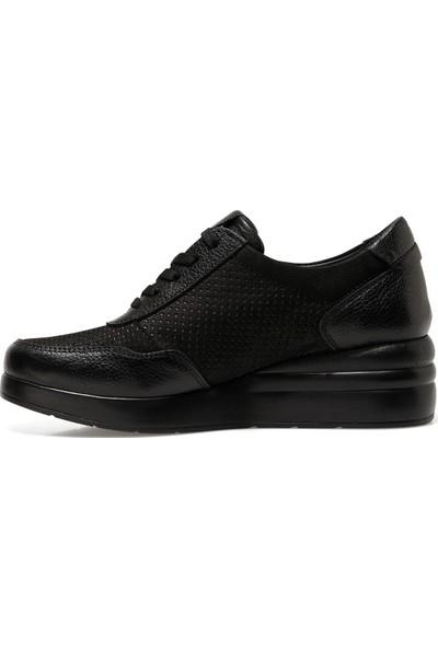 Inci Salvatore Siyah Kadın Comfort Ayakkabı