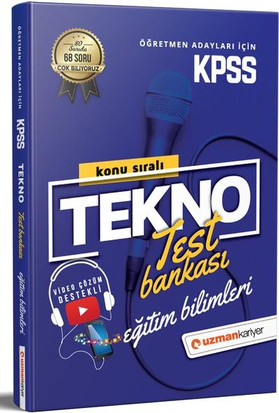 2021 KPSS Tekno Konu Konu Test Bankası Eğitim Bilimleri Tüm Dersler