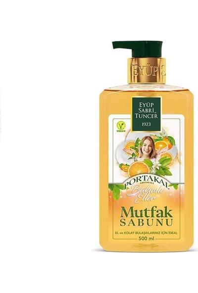 Eyüp Sabri Tuncer Bakımlı Eller Portakal Mutfak Sabunu 500 ml