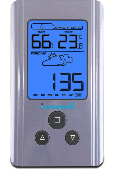 Weewell Higro Termometre