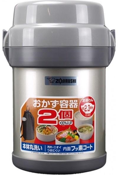 Zojirushi SL-JAF14-SA Vakumlu Yemek Termosu Kabı 1.43L Gümüş