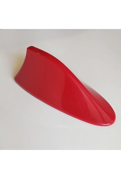 Arcars Balina Anten Kırmızı Yüksek Çekim Universal