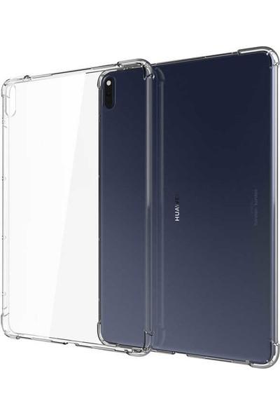Tekno Grup Huawei MatePad 10.4'' Kılıf Korumalı Nitro Antishok Silikon Kılıf Şeffaf