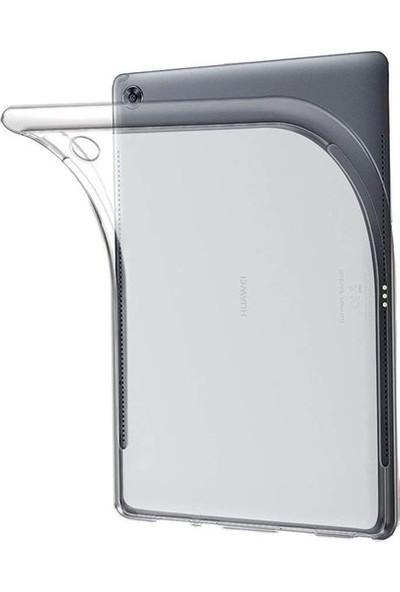 Tekno Grup Huawei MatePad T10 Kılıf Korumalı Lüx Silikon Kılıf Şeffaf