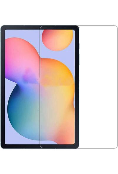 Tekno Grup Huawei MatePad T10s Kılıf Korumalı Lüx Silikon Kılıf + Cam Ekran Koruyucu Şeffaf