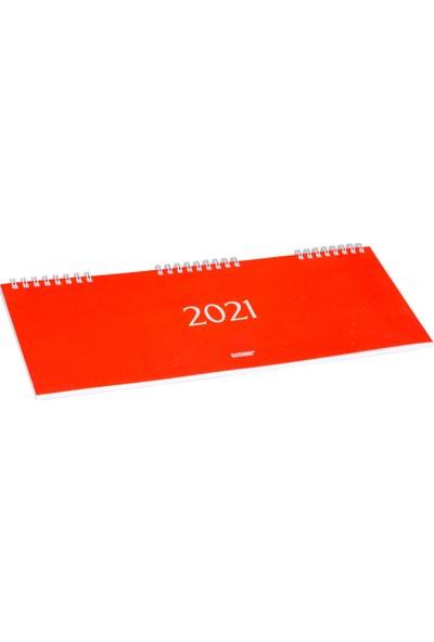 Bayındır 2021 - 12 x 32.5 - Spiralli Masa Takvimi BAJ0210