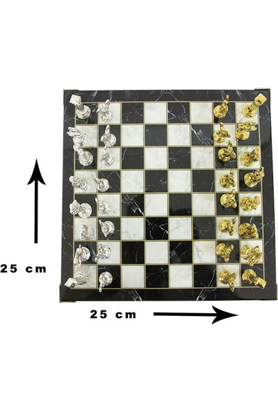 Fixman Mermer Tabla Santraç Seti 25 * 25 cm
