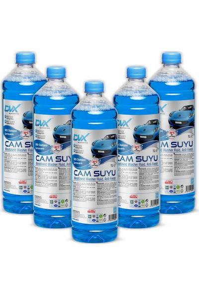 Divortex Car Care- 30° Antifrizli & Şampuanlı Cam Suyu 1 Lt X 5 Adet