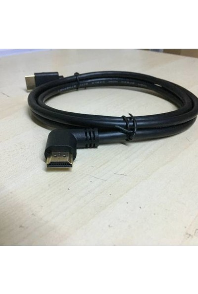 Platoon 90 Derece L HDMI Kablo - 3m
