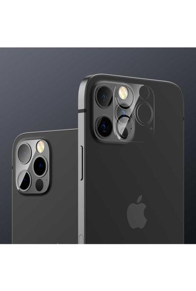 Benks Apple iPhone 12 Pro Soft Kamera Lens Koruyucu Cam