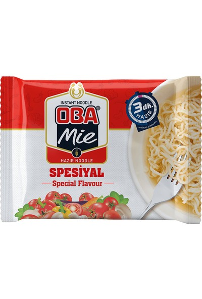 Oba Mie Spesiyal Paket Noodle 75 gr