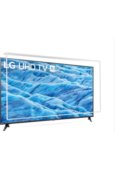 Nunamax Nano3mm LG 43UM7100PLB - Kırılmaz TV Ekran Koruyucu