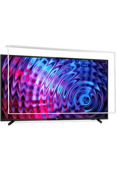 Nunamax Nano3mm PHİLİPS 43PUS6503/62 - Kırılmaz TV Ekran Koruyucu
