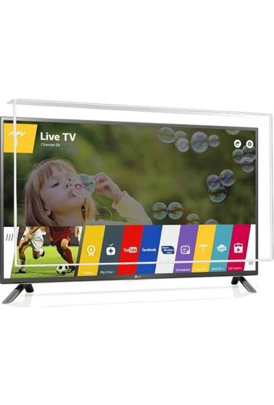 Nunamax Nano3mm LG 50LF650V - Kırılmaz TV Ekran Koruyucu