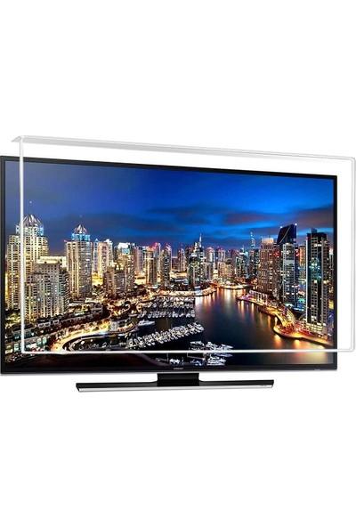 Nunamax Nano3mm SAMSUNG 55JU6470 - Kırılmaz TV Ekran Koruyucu