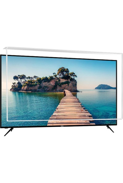 Nunamax Nano3mm VESTEL 58U9500 - Kırılmaz TV Ekran Koruyucu