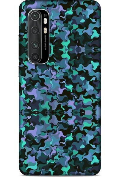 Lopard Kamuflaj 02 Xiaomi Mi Note 10 Lite Kılıf Silikon Kapak