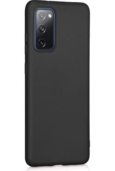 Vendas Samsung Galaxy S20 Fe Premier Soft Serisi Silikon Kılıf Siyah