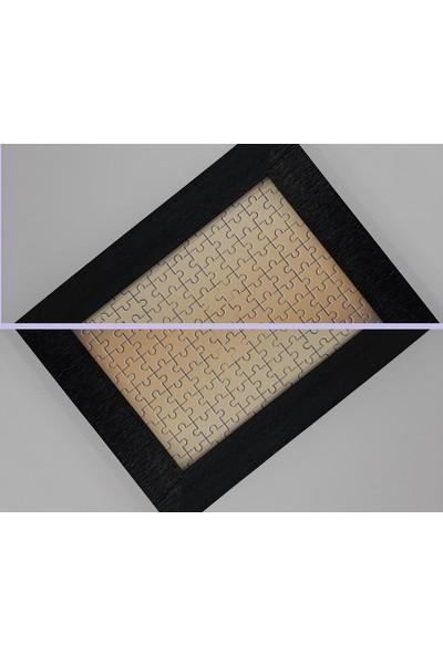 Deritel 1000 Parça Puzzle Çerçevesi Siyah 48 * 68 cm