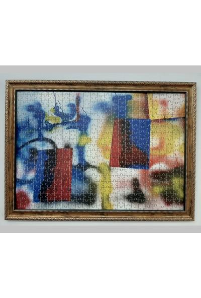 Deritel 1000 Parça Puzzle Çerçevesi Bakır 48 * 68 cm