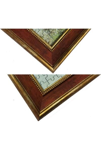 Deritel 1000 Parça Puzzle Çerçevesi Vişne 48 * 68 cm