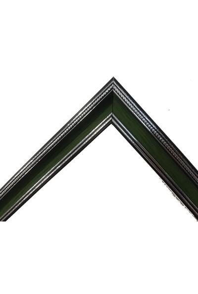 Deritel 500 Parça Puzzle Çerçevesi Yesil 34 * 48 cm