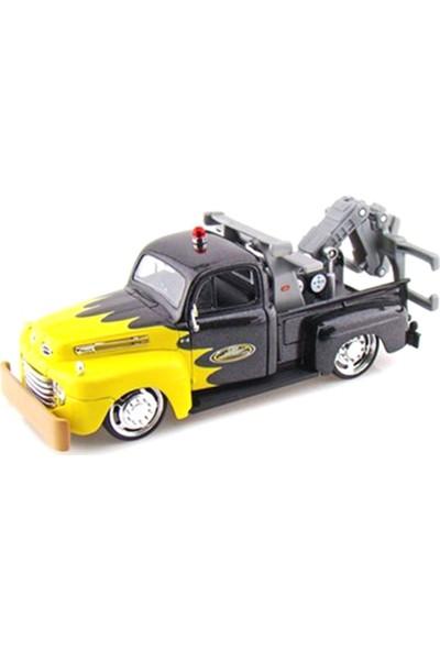 Maisto 1:24 1948 Ford F1 Wrecker Model Araba Sarı Siyah