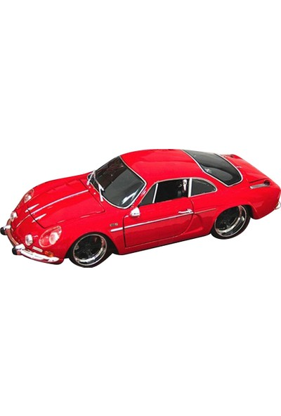 Maisto 1971 Alpine Renault 1600S 1:18 Model Araba Kırmızı